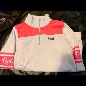 PINK Victoria's Secret Half Zip Pullover Size XS